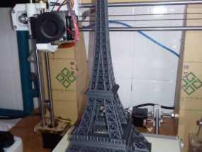 埃菲尔铁塔 3D打印制作