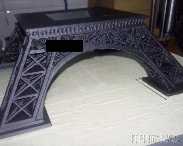 埃菲尔铁塔 3D打印制作  图1