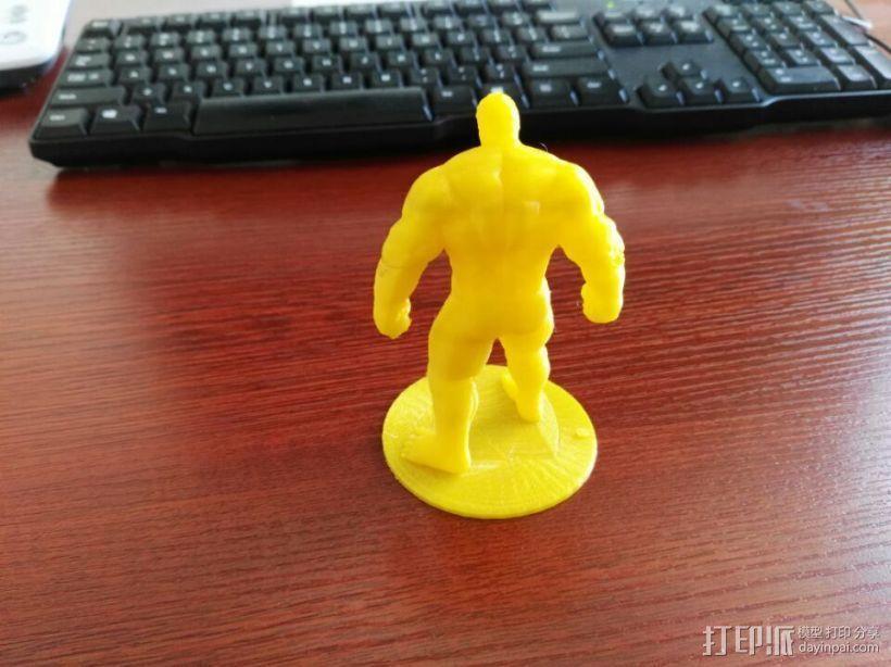 复仇者联盟 绿巨人浩克 Hulk 3D打印制作  图2