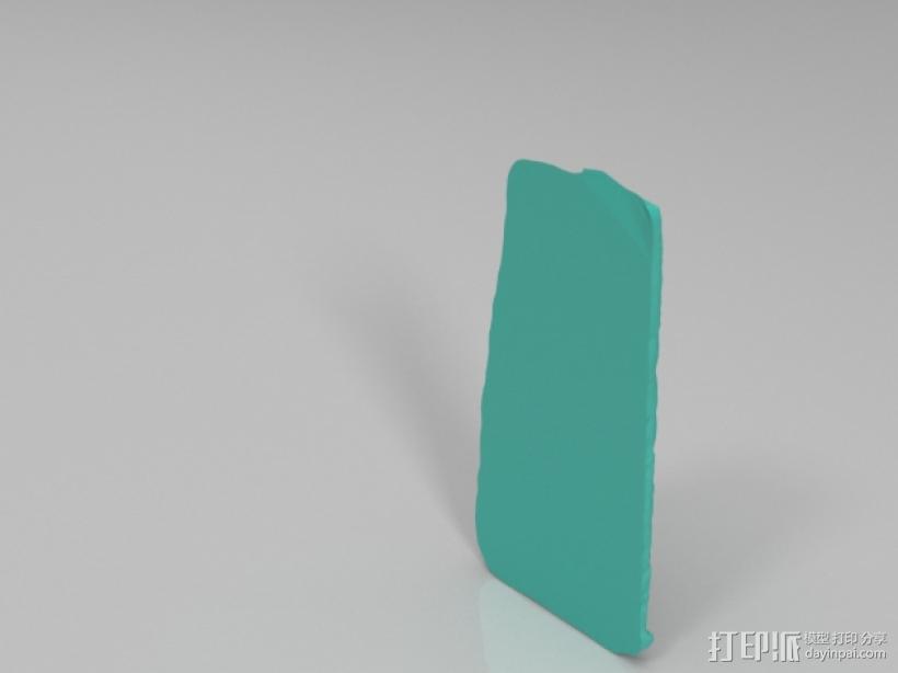 女祭司大理石雕像模型 3D模型  图1