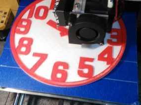 挂钟钟表 3D模型