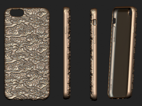 苹果手机壳 3D模型