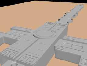 秦时明月,非攻 3D模型