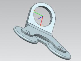 双轮直线器 3D模型