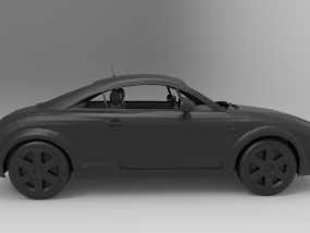 奥迪TT 3D模型