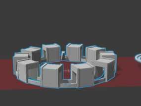 钢铁侠胸口反应堆 3D模型