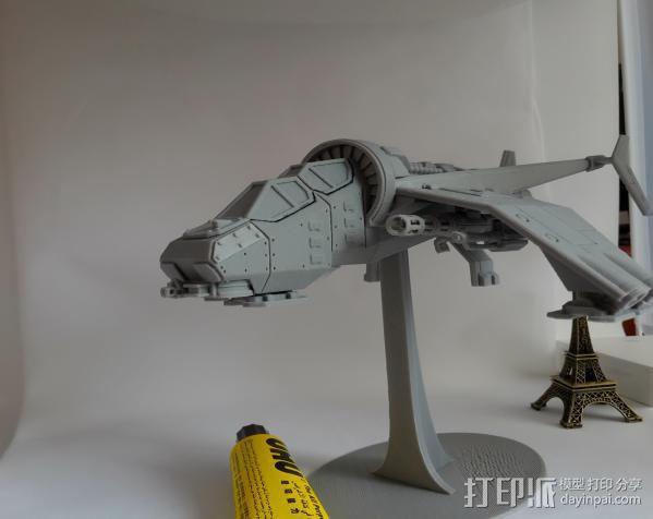 Albatross Gunship 3D打印制作  图2