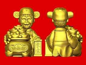 2016年金猴聚宝 3D模型