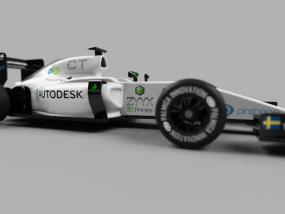 组装赛车 3D模型
