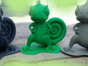 可爱小恐龙 3D模型