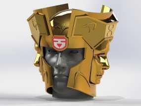 双子座头盔 3D模型