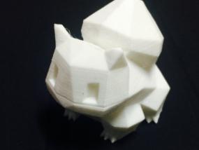 妙蛙种子 3D打印制作
