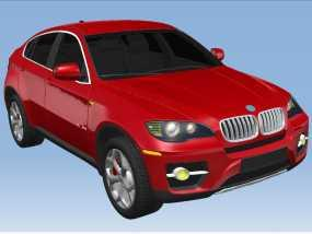 傲世汽车精品-宝马X6 3D模型