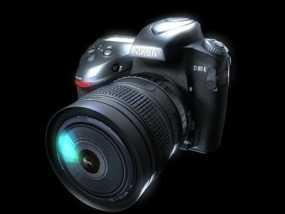 单反相机 3D模型