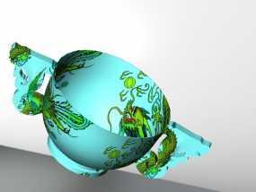 龙凤呈祥杯 3D模型