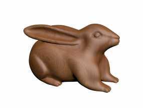 十二生肖兔子 3D模型