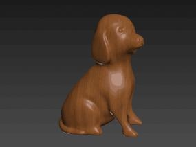 十二生肖狗 3D模型