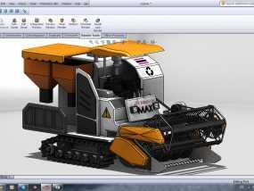 收割机 3D模型