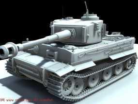 虎式  传奇战车 3D打印制作