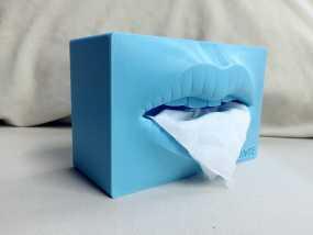 原创纸抽盒 3D模型