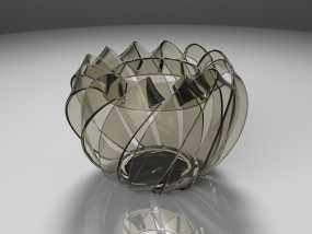 创意篮子 3D模型