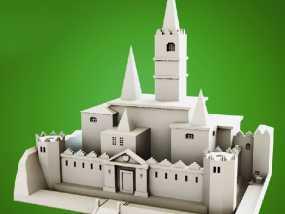 海拉尓城 3D模型