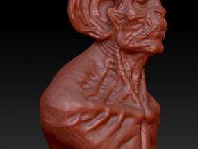 蝙蝠怪物 3D模型