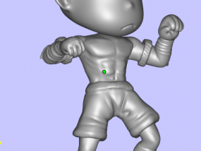 Q版盲僧 3D模型