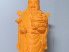 文财神 3D模型