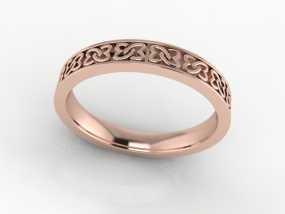 心连心戒指 3D模型