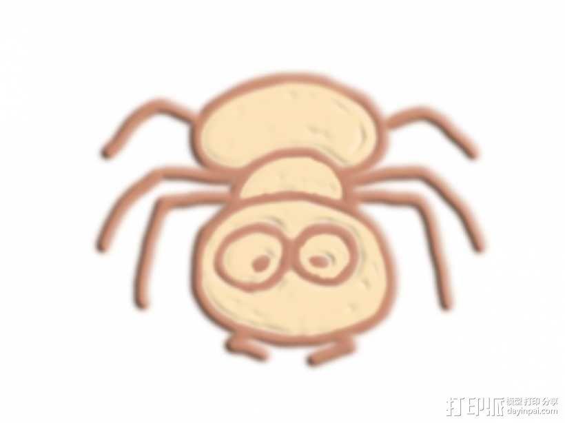 蚂蚁 3D模型  图1