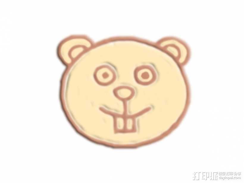 熊 3D模型  图1