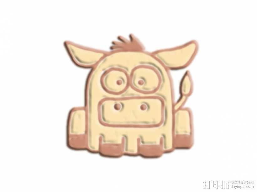 大鼻子 野猪 3D模型  图1