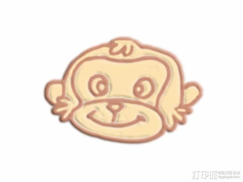 猴头 3D模型  图1