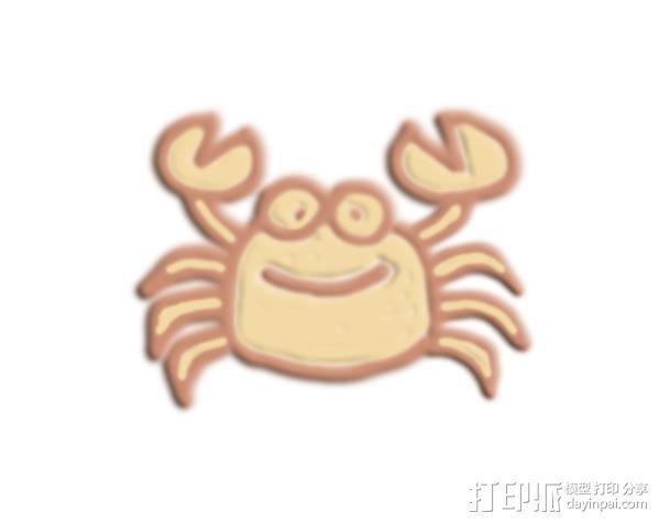 螃蟹 3D模型  图1