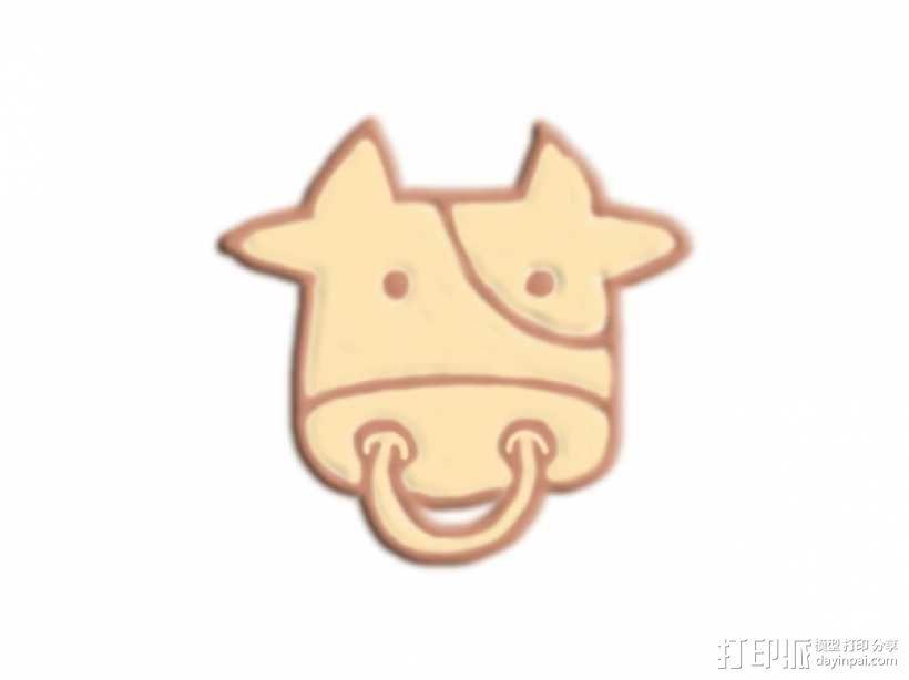 牛头 3D模型  图1
