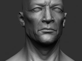 影视级人头 3D模型