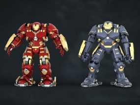 钢铁侠3超高精度模型附反派 3D模型