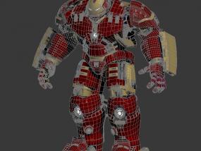 3D打印 钢铁侠  高精度 3D模型