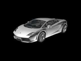 车 3D打印 兰博基尼