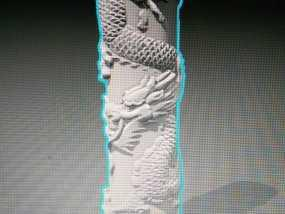 盘龙柱 3D模型