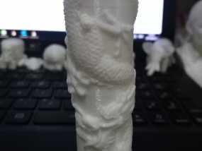 盘龙柱 3D打印制作