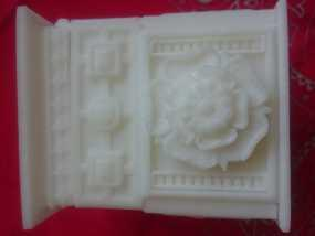 玫瑰盒子 3D打印制作
