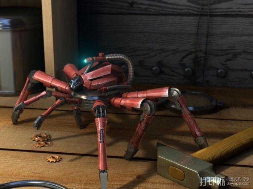 机械蜘蛛 3D模型  图1