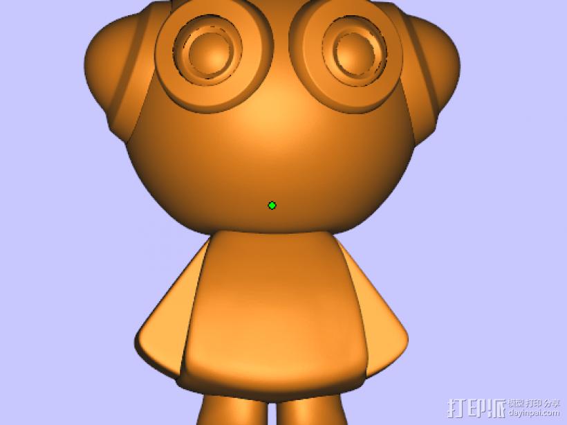 派派 3D模型  图1