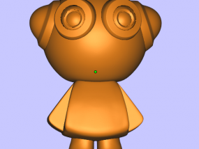 派派 3D模型