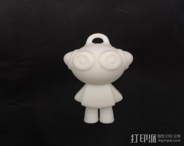 派派挂件 3D打印制作  图2