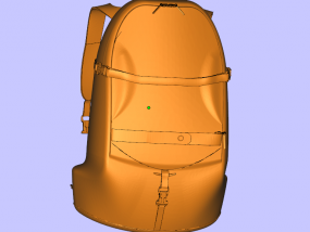 书包 3D模型