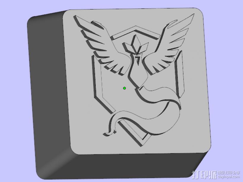 键盘按键 3D模型  图1