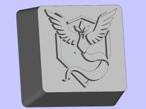 键盘按键 3D模型